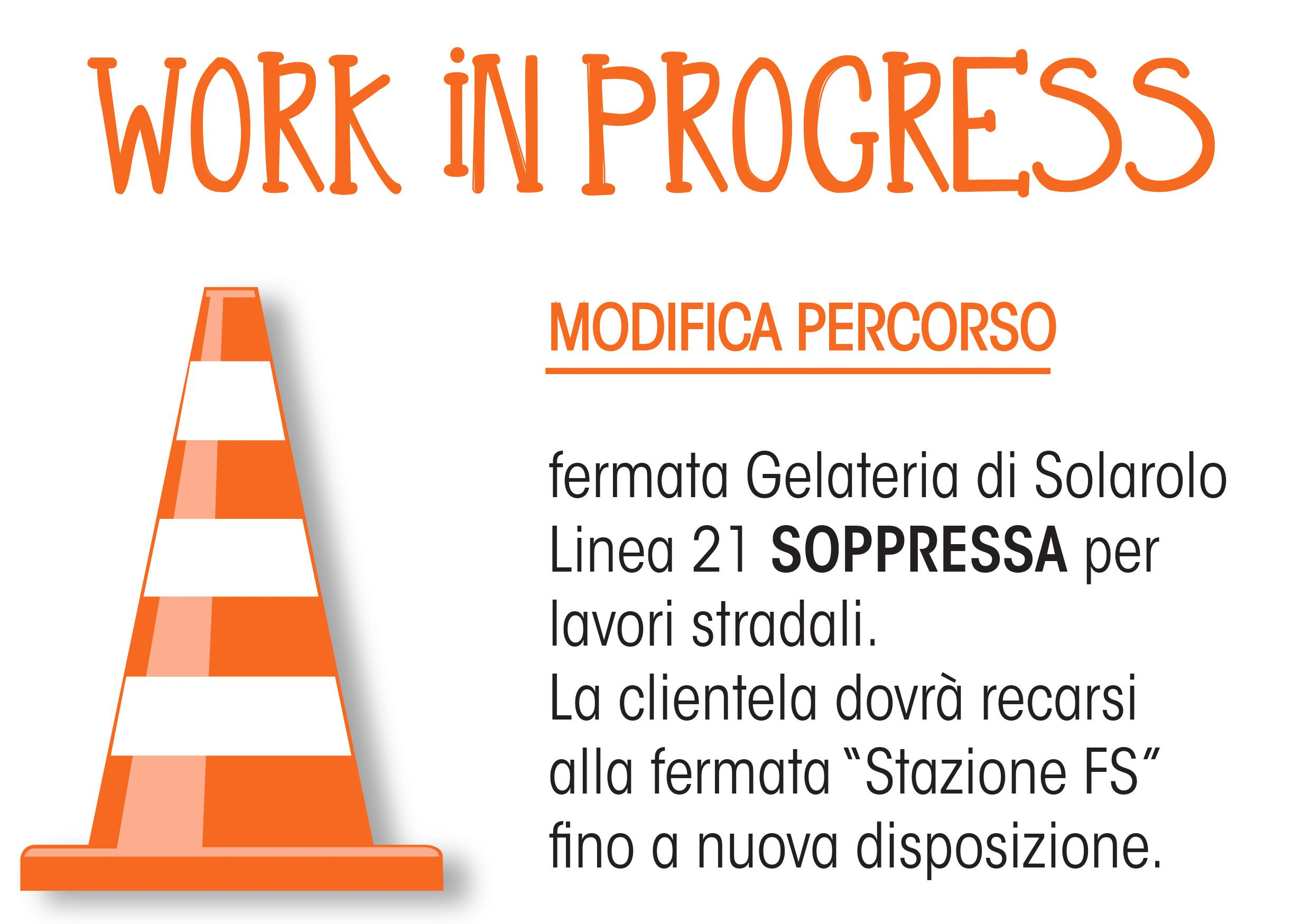Modifica percorso Linea 21